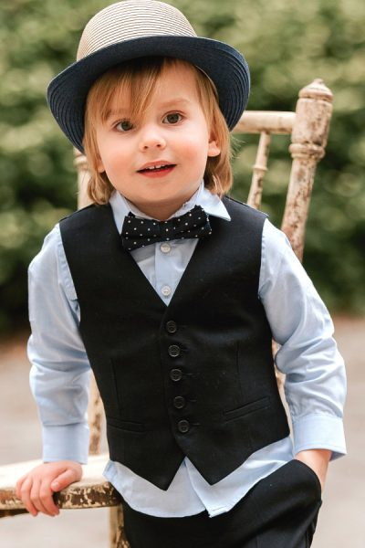 Boys Paul Smith suit for page boy outfit or special occasions.