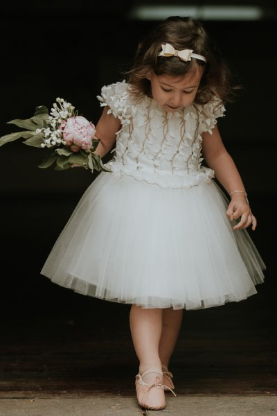David Charles flower girl dress. Communion dress. Girls party dress.