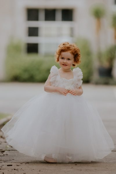 Dollcake My Everything Tulle Frock. Flower girl dress. Girls special occasion dress.