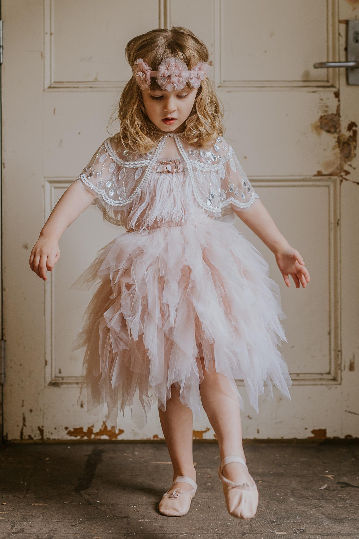 Tutu Du Monde Swan Queen Tutu Dress - Milk